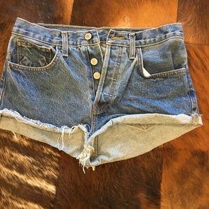 Brandy Melville John Galt Cut Off Shorts